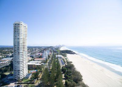 Accommodation Burleigh Heads Gold Coast Burleigh Surf Drone